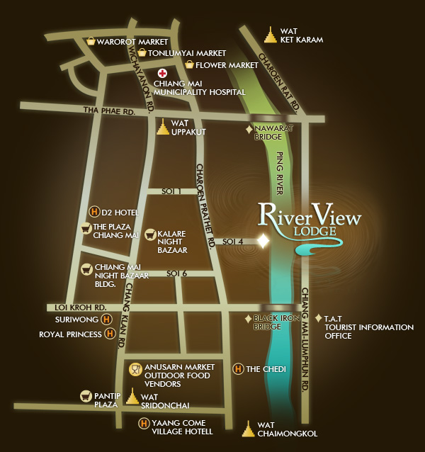 River View Lodge Map